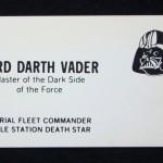 Darth Vader Card