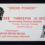 Droids Card