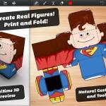 Foldify 3D Figurines iPad app