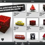 Foldify 3D Figurines iPad app 2