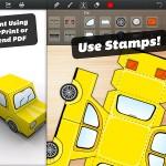 Foldify 3D Figurines iPad app 3