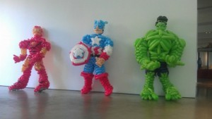 Ironman, Captain America and Hulk