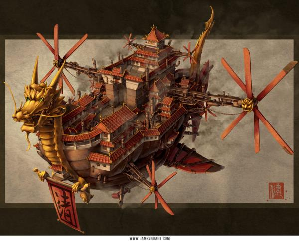 James-Ng-Steampunk Vessel
