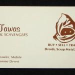 Jawas Card