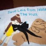 Leia and Jabba