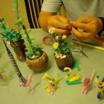 Making Straw Art
