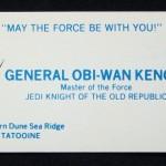 Obi-Wan Card