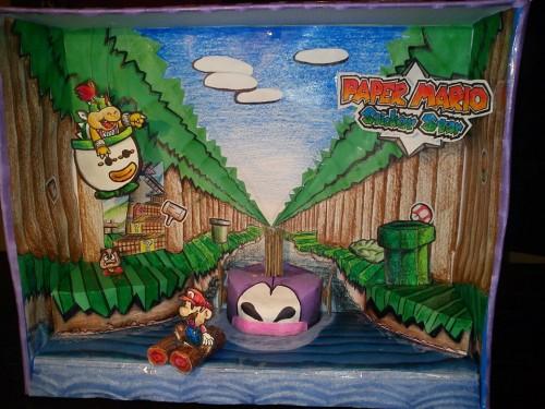 Paper Mario Sticker Star diorama by Miranda E. image