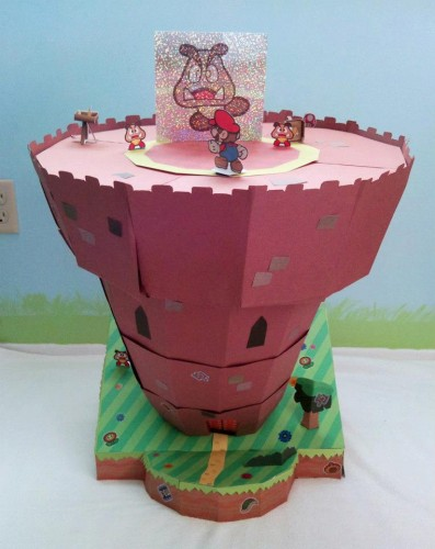Paper Mario Sticker Star diorama by David M. image