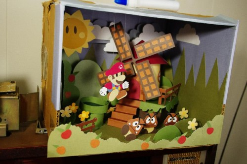 Paper Mario Sticker Star diorama by Dominik K. image