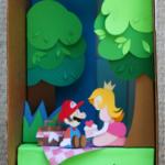 Paper Mario Sticker Star diorama by Gigi D.G. image