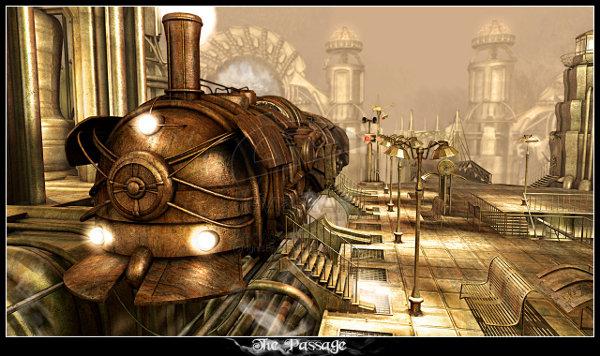 Passage_IgnisFerroque-Steampunk-train