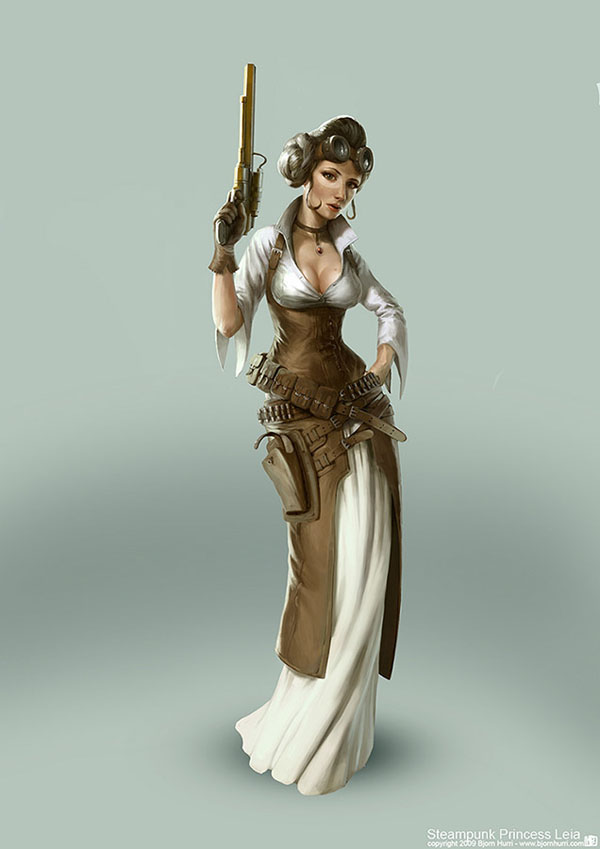 Steam-punk-princess-leia