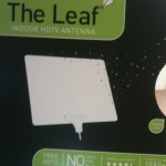 The Mohu Leaf Indoor HDTV Antenna