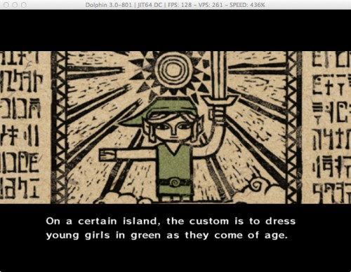 The Legend of Zelda The Wind Waker sailing Link image