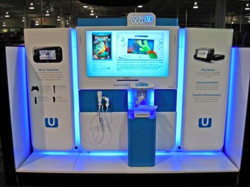 Wii U demo kiosks image