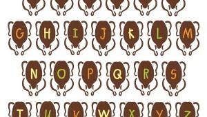 turkey Embroidery font