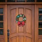 8-bit_holiday_wreath_door
