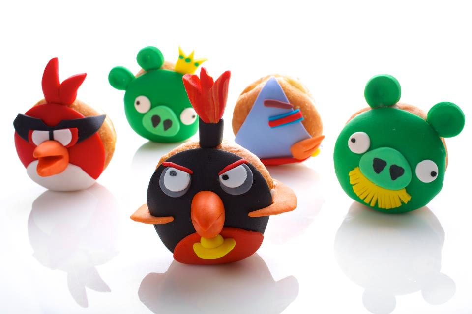 Happy hanukkah angry birds donuts walyou she voltagebd Images