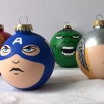 Avengers-Captain-America-Thor-Hulk-Iron-Man-Christmas-Ornament