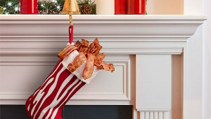 Bacon Christmas Stocking