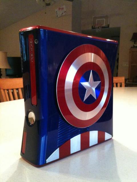 Captain America Xbox 360 mod 1