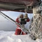 Freezing Yacht Santa