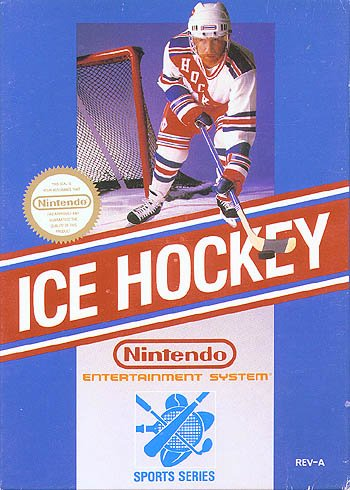 Ice hockey nes nintendo image