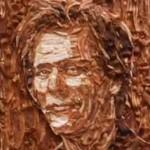Kevin Bacon Food Portrait