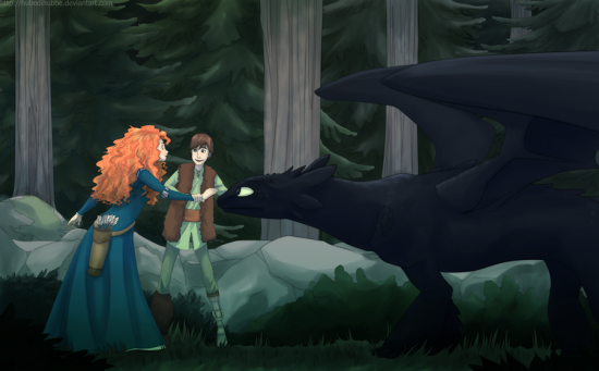 Merida Toothless