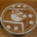 Ms. Pac-man Latte v.2 by Andrew Alcala