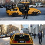 Nooka NYC DeLorean Taxi 2