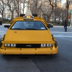 Nooka NYC DeLorean Taxi 3