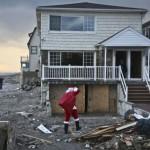 Sandy Santa Claus