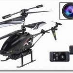Smartphone R-C Helicopter With Camera