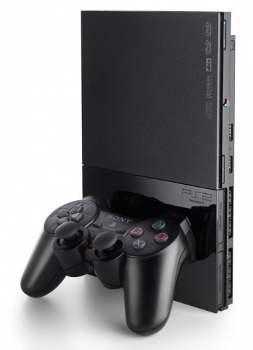 Sony PlayStation 2 slim controller image