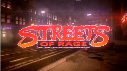 Streets of Rage prototype image 1