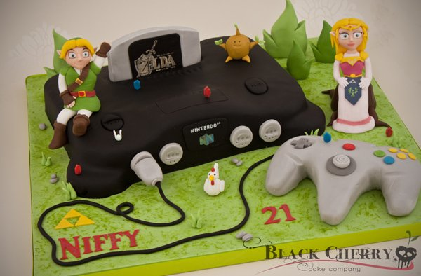 Zelda Ocarina of Time Cake 1