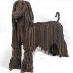 bicycle dog sculpture 3