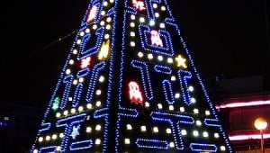 pac_man_xmas_tree