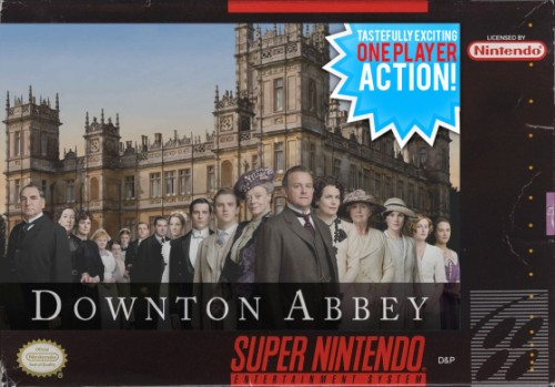 Downton Abbey Super Nintendo box image