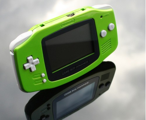 Green Game Boy Advance by Zoki64 image