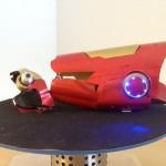 Homemade Iron Man Laser Gauntlet