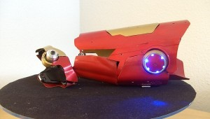 Homemade Iron Man Laser Gauntlet