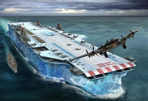 Iceberg Aircraft Carrier