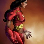 Jasmine Iron(wo)man