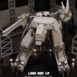LEGO Metal Gear Solid REX V.2 modeled by ragnarock01 image 2