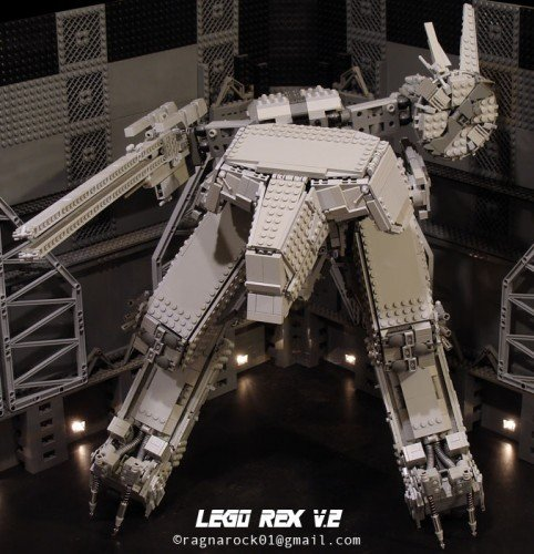 LEGO Metal Gear Solid REX V.2 modeled by ragnarock01 image 2
