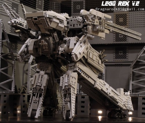 LEGO Metal Gear Solid REX V.2 modeled by ragnarock01 image 3