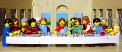 Lego Last Supper
